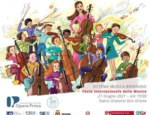 SISTEMA MUSICA ARNESANO CELEBRA LA FESTA DELLA MUSICA 2021